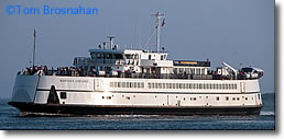 Car Ferry from Woods Hole to Martha's Vineyard MA