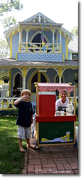 Lemonade stand in Oak Bluffs, Martha's Vineyard, Massachusetts