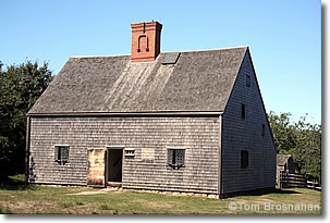 Jethro Coffin House (1686), Nantucket Island, Massaschusetts