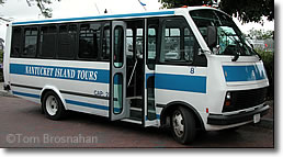 Nantucket Island Tour Bus