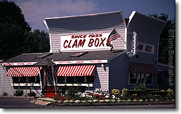Clam Box Restaurant, Ipswich MA