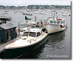 Boats in the Harbor, Marblehead MA