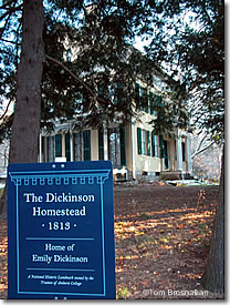 Poet Emily Dickenson's House, Amherst MA