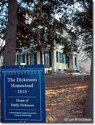 Emily Dickenson Home, Amherst MA