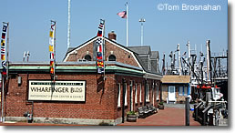 Wharfinger Bldg Visitor Center, New Bedford MA