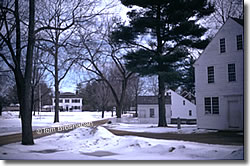 Winter at Old Sturbridge Village, Sturbridge MA