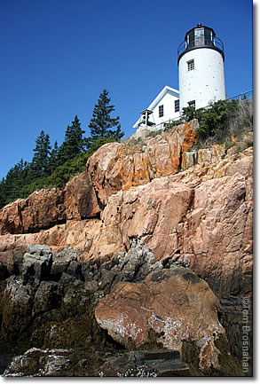Bass Point Light, Mount Desert Island, Maine