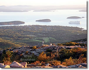 Frenchman Bay from Cadillac Mountain, Acadia National Park, Maine