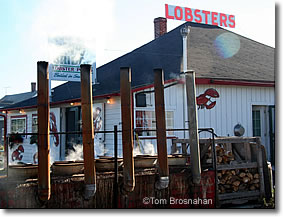 Lobster Pound, Trenton Bridge near Bar Harbor ME