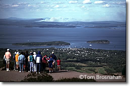 Cadillac Mountain View, Acadia National Park,  Bar Harbor ME