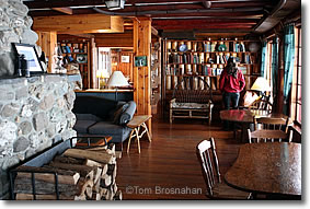 Library, The Birches, Moosehead Lake ME