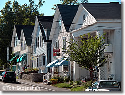 Houses on Main St, Blue Hill ME