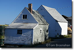 Shacks in Stonington ME