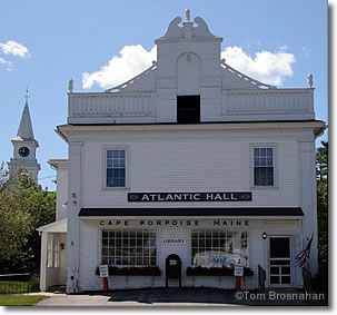 Atlantic Hall, Cape Porpoise, Kennebunkport, Maine