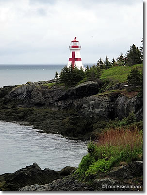 Head Harbour Lightstation, Campobello Island, New Brunswick, Canada