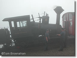 Mt Washington Cog Railway Locomotive