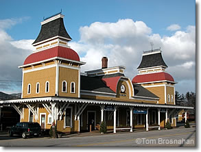 Conway Scenic Railroad station, North Conway NH
