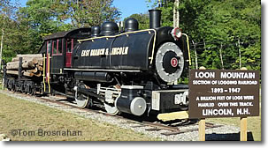 Loon Mountain Locomotive, New Hampshire