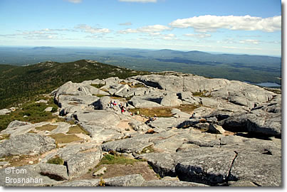 View from summit of Mt Monadnock NH