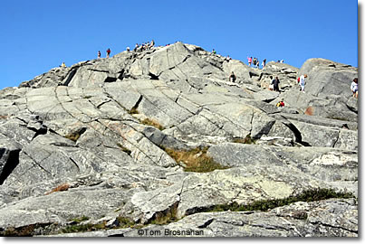 Summit of Mount Monadnock NH