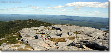 View from Mt Monadnock NH