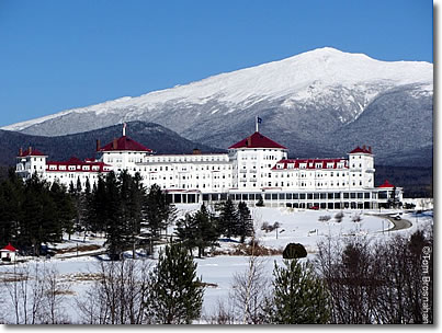 Mount Washington Hotel, White Mountains, New Hampshire