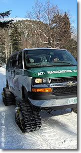 Mt Washington Snow Coach, Great Glen, New Hampshire