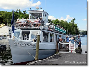 m/v Mt Sunapee, Sunapee Harbor, New Hampshire