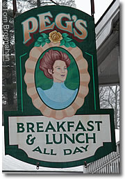 Peg's Restaurant, North Woodstock NH