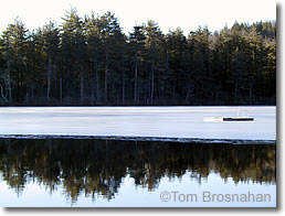 Ice-bound Float, Lake Blaisdell NH