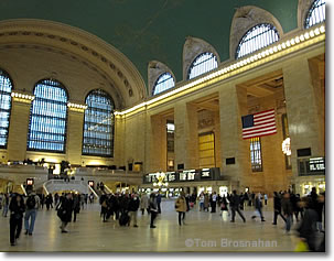 Main Concourse, Grand Central Terminal, New York NY