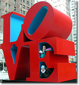 Love Sculpture, New York NY
