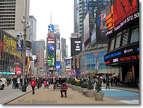 Times Square, New York NY