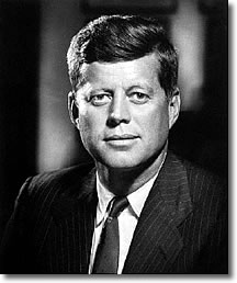 John F Kennedy, 35th president of the USA