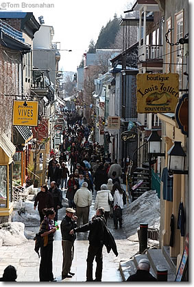 Petit Champlain, Lower Town, Quebec City