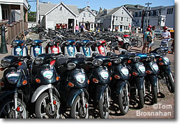 Motorbikes for rent, Block Island RI