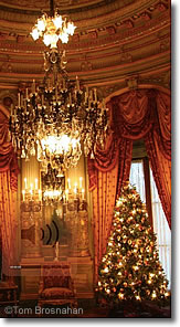 Christmas at The Breakers mansion, Newport RI