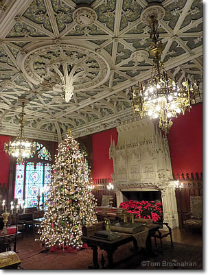 gothic room at marble house newport rhode island
