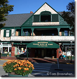 International Tennis Hall of Fame, Newport Casino, Newport RI