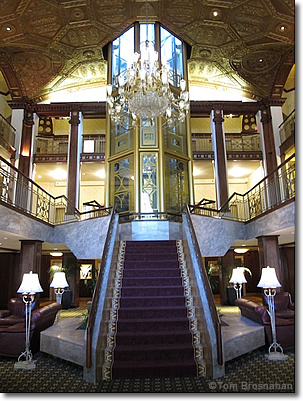 Lobby Of The Providence Biltmore Hotel Ri