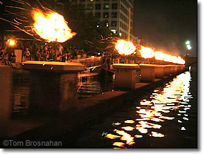 Waterfire, Providence RI