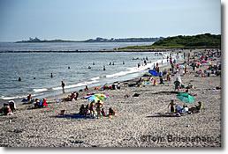 Scarborough State Beach Point Judith Ri