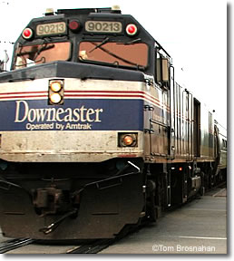 Amtrak Downester train