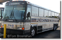 Plymouth & Brockton Bus
