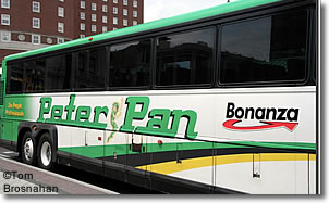 Peter Pan Bus, Providence RI
