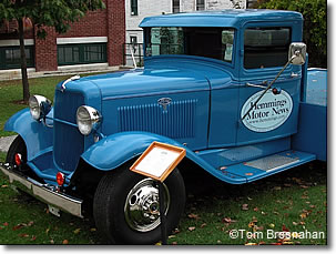 Antique Ford pickup truck at Hemmings Motor News, Bennington VT