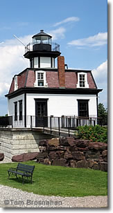 Colchester Reef Lighthouse, Shelburne Museum, Vermont