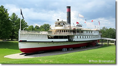 s/s Ticonderoga at Shelburne Museum, Vermont