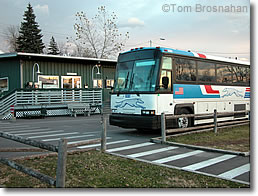 Vermont Transit Bus Station, Burlington VT