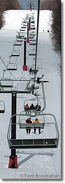 New England ski lift